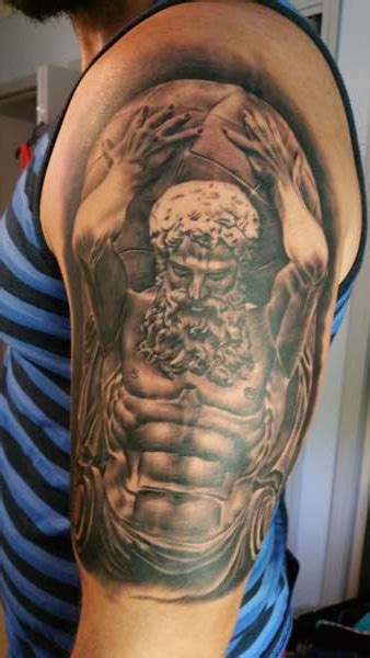 atlas tattoo titan atlas