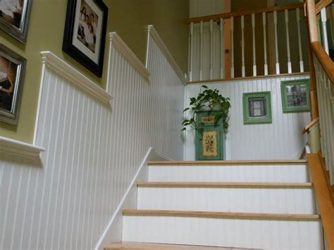 beadboard stairs pin by amanda mioline on design for the home