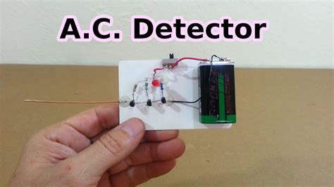 ac line neutral ac line and neutral detector without contact