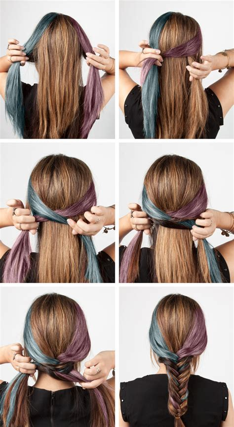 steps to show how to make fish tail favload 6 easy diy braids the style canvas scarves com s