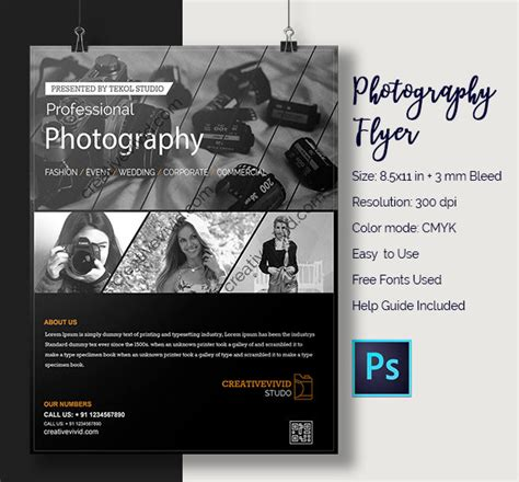 30 photography flyer templates free premium download