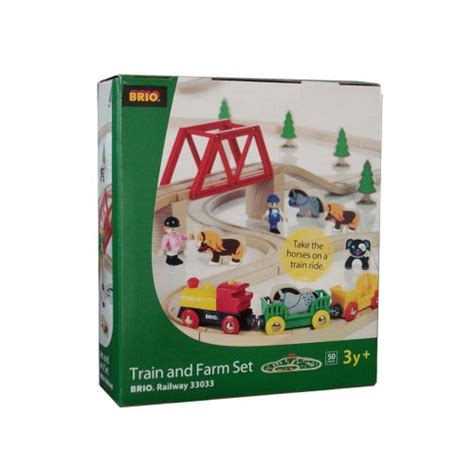 brio farm set brio train and farm set 7312350330335