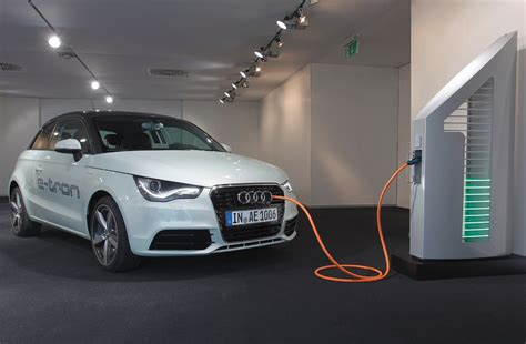l with charging station audi demonstrates solar powered charging stations for evs