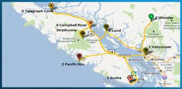 map of canada west coast west coast us and canada map west coast us and canada map