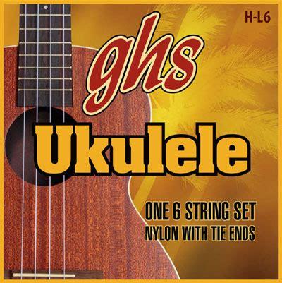 Ibanez 025 Ukulele Strings Silver ghs ukulele strings hawaiian lili u 6 string ukulele h l6
