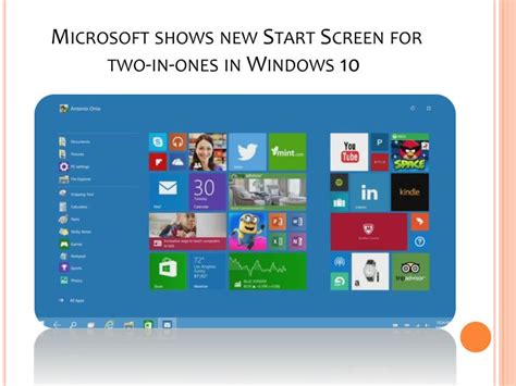 News Starter For Ten by Ppt Windows 10 The Top Features Powerpoint