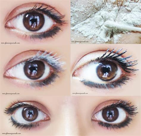 how to a tricks how to get voluminous lashes baby powder mascara trick makeup tricks