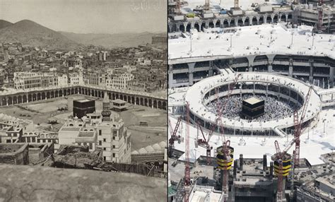 sponsors makkah vs makkah mecca then and now 126 years of growth the atlantic