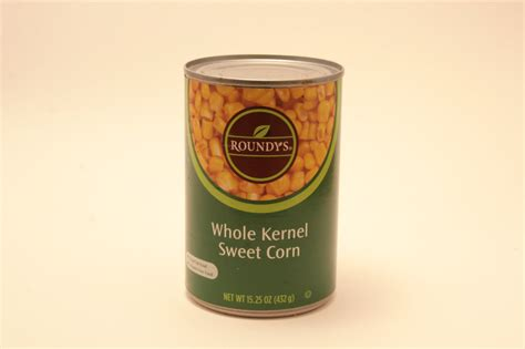 can my eat canned corn from the can the pizzle