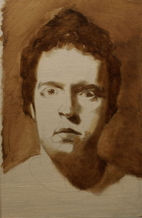 watercolor underpainting tutorial how to paint a portrait in oil part 2