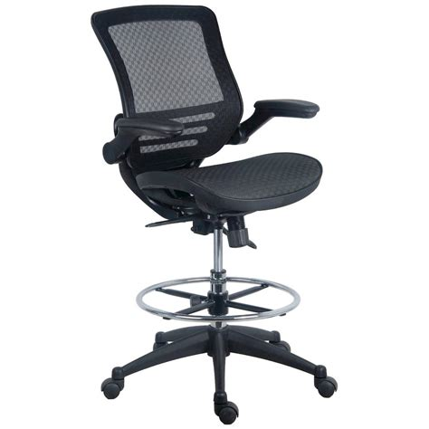 Heavy Duty Drafting Stool by Evolve All Mesh Heavy Duty Drafting Chair