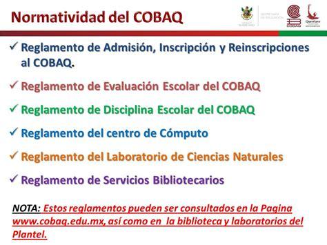 colegio de bachilleres del estadode quertaro cobaq plantel 18 curso de inducci 211 n colegio de bachilleres del estado de
