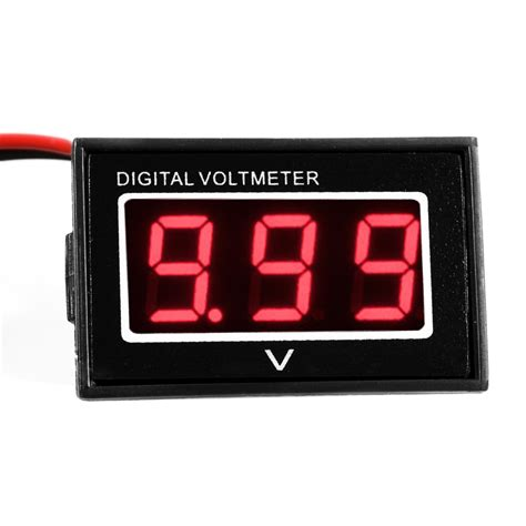 Led Digital dc 3 30v blue led digital display voltage voltmeter