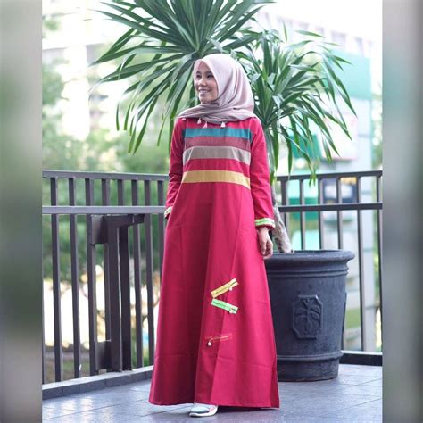 Nirina Dress supplier baju muslim terbaru