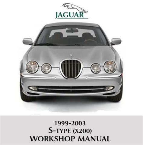 service manual how adjust rpm 2008 jaguar s type service manual how to change transmission jaguar s type repair manual ebay