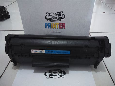 Tinta Printer Hp Laserjet 1010 hp 12a q2612a toner compatible recycle cartridge isi