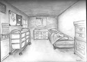 bedroom one point perspective by kakarot12 on deviantart