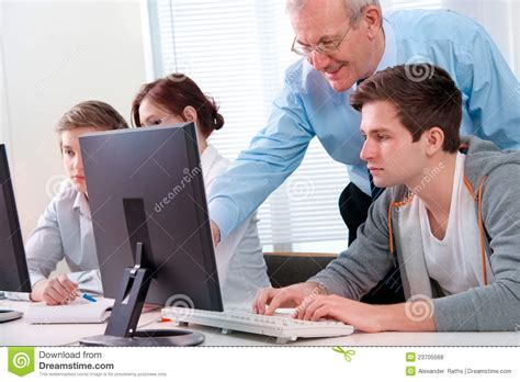 Computer Trainer by Computer Stock Photo Image Of Monitors 23705568