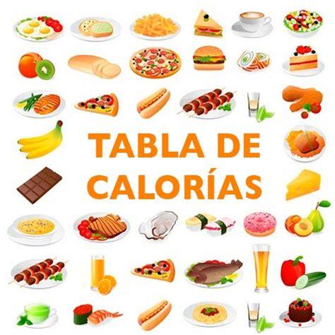 calorias de los alimento tabla de calor 237 as divina cocina