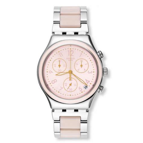 Swatch Iron Pink swatch irony chrono dreamnight ycs588g pink stainless
