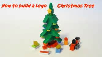 how to build a lego christmas tree youtube