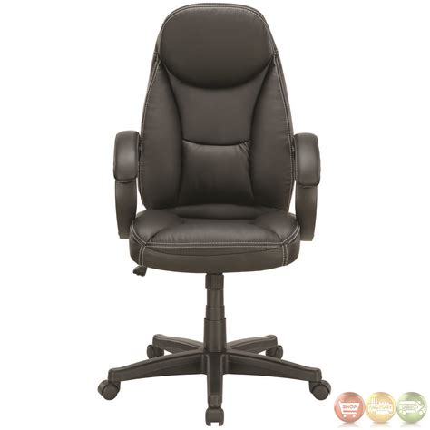 Office Chairs High Seat Height Trendsetter Contemporary Modern High Back Ergonomic