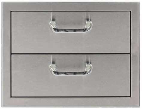 Stainless Steel Drawer Inserts by Pcm Bbq Island 2 Drawer 260 Series Stainless Steel