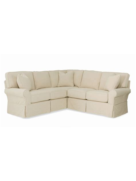 sofa with skirted base annapolis loveseat corner sectional cottage home 174