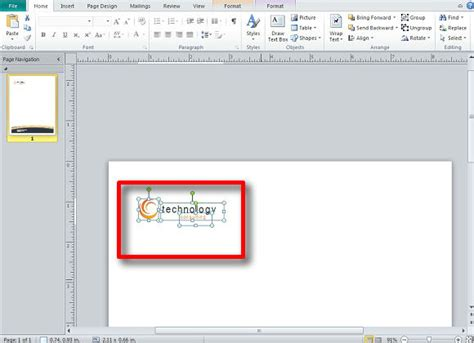 Creating A Letterhead In Publisher Powerpoint Presentation Creating Word Templates