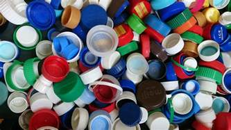 Blue Comforter Plastic Water Bottle Caps Don T Have To Be Garbage I