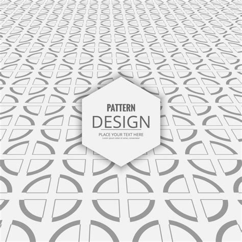 ai pattern perspective decorative circles pattern with perspective vector free
