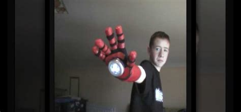 How To Make Iron Gloves Out Of Paper - how to make the repulsor arm prop from iron 171 props