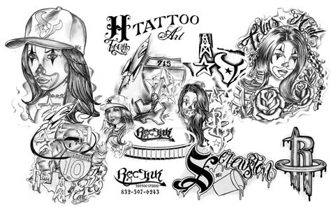 urban lettering tattoo flash pictures to pin on pinterest