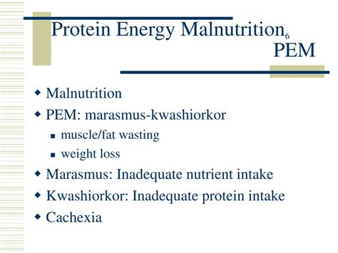 protein energy malnutrition ppt nutrition therapy and dialysis powerpoint
