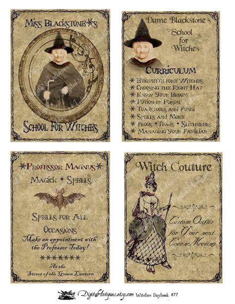 printable retro images vintage halloween witch s daybook printable digital download