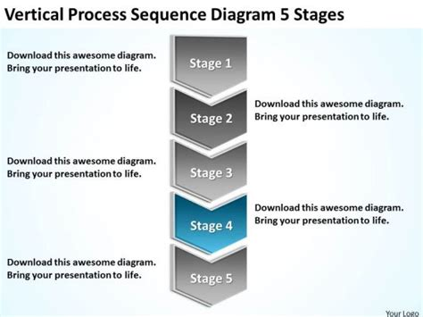 sequence diagram powerpoint template conceptdraw sles