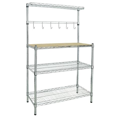 sandusky 2 shelf baker s rack br351460 the home depot