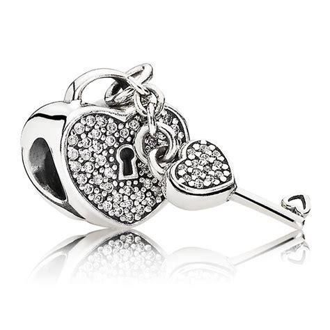pandora lock of charm 791429cz pandora from gift
