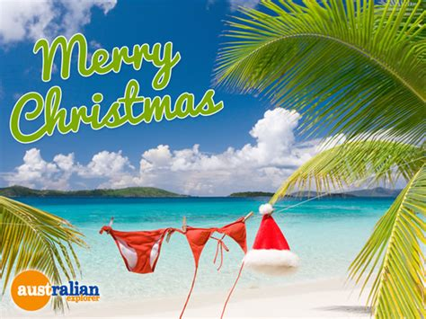 christmas beach bikini virtual postcard christmas beach bikini ecard christmas beach bikini
