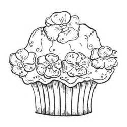 print amp download cupcake coloring pages