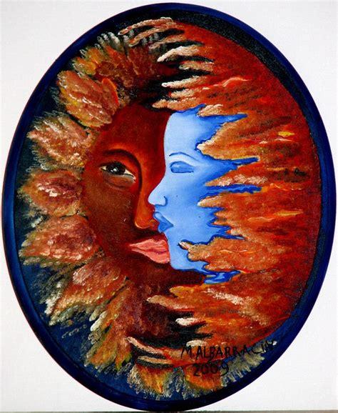 imagenes abstractas de la luna sol luna miriam albarracin artelista com