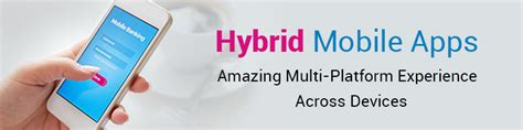 banner start app layout hybrid mobile application development company hybrid app