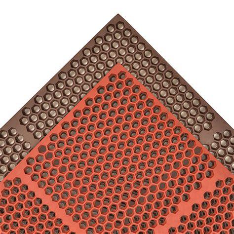 Honeycomb Mat by Optimat Honeycomb Anti Fatigue Kitchen Mat Rubber Drainage Matting