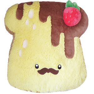 squishable comfort food toast comfort food french toast an adorable fuzzy plush to
