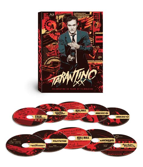 quentin tarantino film print collection lionsgate to release tarantino xx 8 film collection on