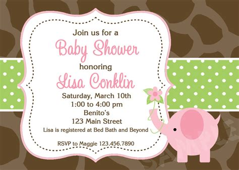 Baby Invitations by 29 Impressive Baby Shower Invitation Card Designs