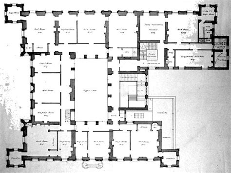 mansion floor plans castle floor plan of highclere castle google search floor