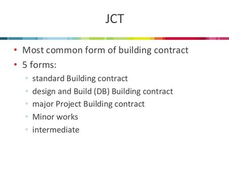 jct design and build contract explained muckle llp which contract should i be using