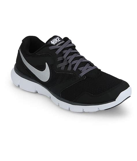 nike flex experience black running shoes price in india