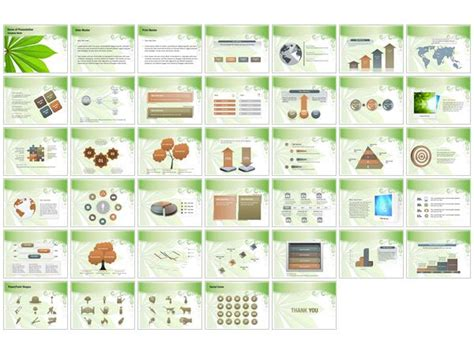 botany report template botany powerpoint templates botany powerpoint
